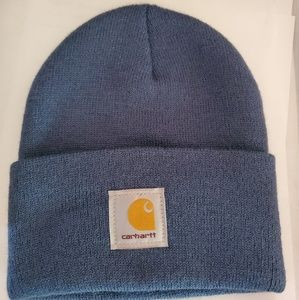 Carhartt beanie blue new without tags